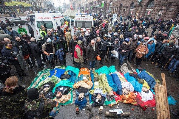 Год 2014 – рождение новой Украины (фото) - фото 1