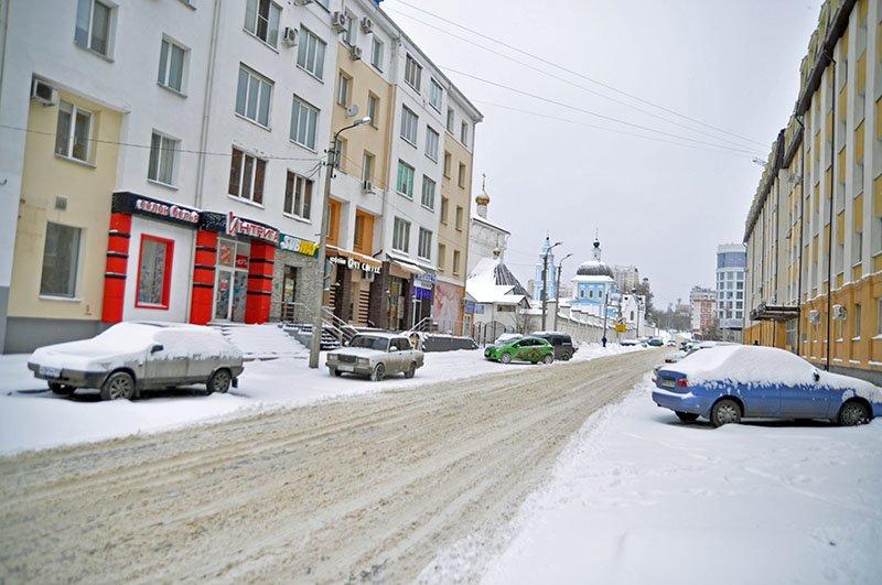 В последние выходные перед Новым годом Белгород полностью покрылся снегом, фото-7