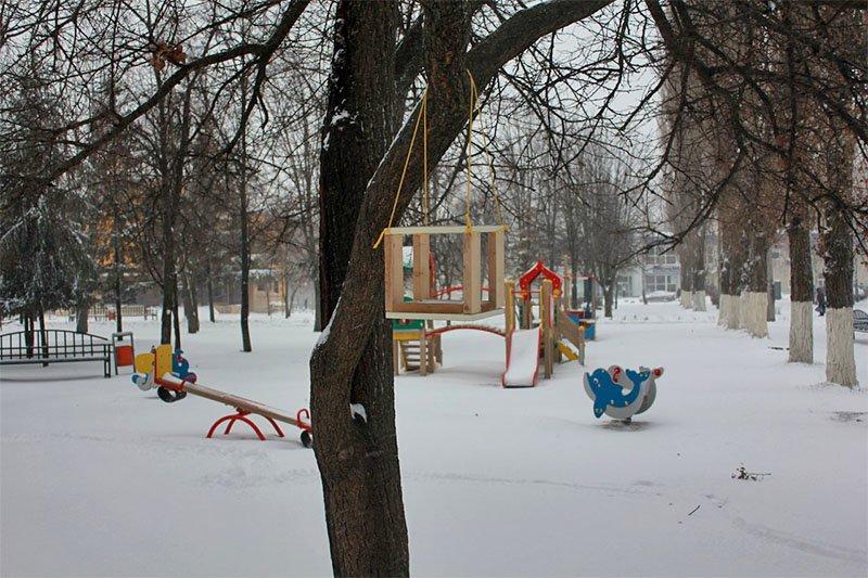 В предновогодние выходные Белгород полностью покрылся снегом (фото) - фото 8