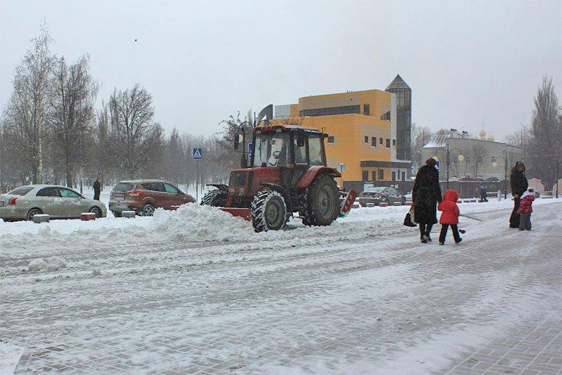 В предновогодние выходные Белгород полностью покрылся снегом (фото) - фото 2