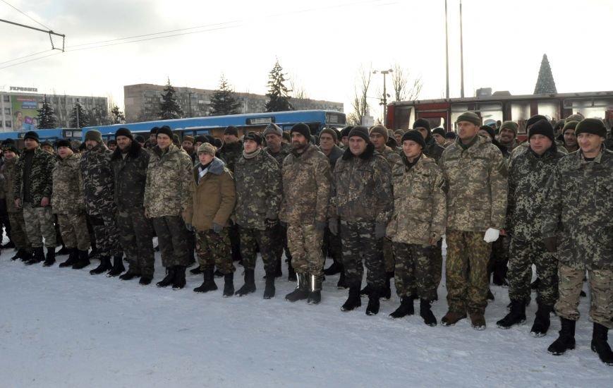 ФОТОРЕПОРТАЖ: В Запорожье из зоны АТО прибыл 37-й мотопехотный батальон, фото-6