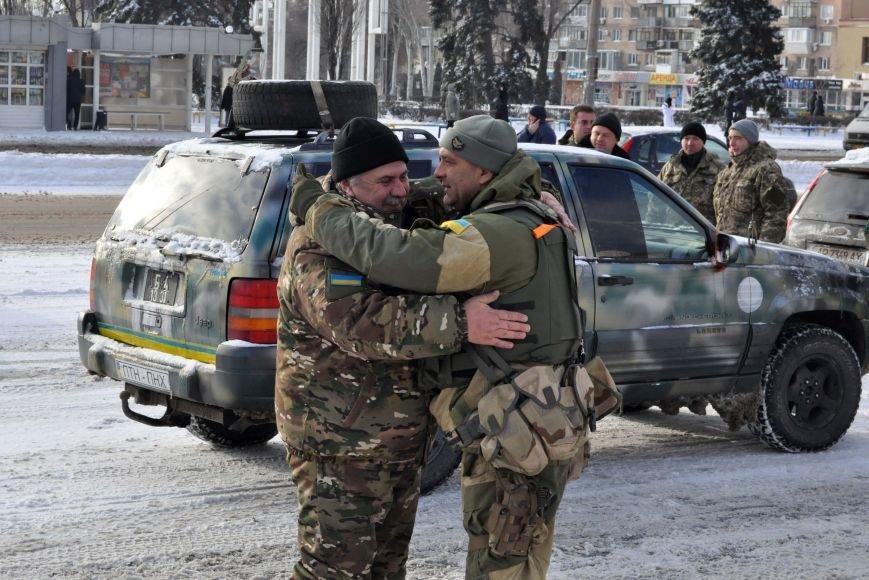 ФОТОРЕПОРТАЖ: В Запорожье из зоны АТО прибыл 37-й мотопехотный батальон, фото-2