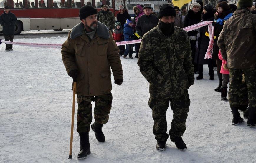 ФОТОРЕПОРТАЖ: В Запорожье из зоны АТО прибыл 37-й мотопехотный батальон, фото-8