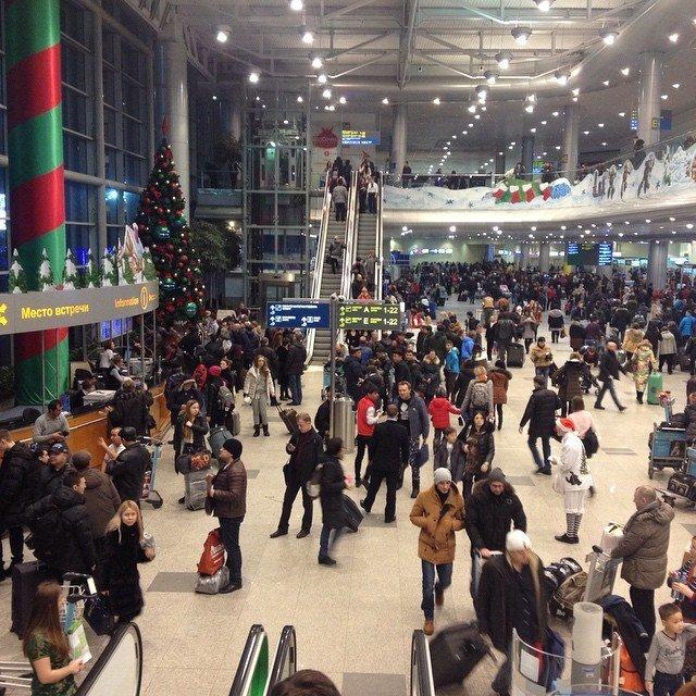 В Новогодние каникулы аэропорт Домодедово ожидает более 1 000 000 пассажиров (фото) - фото 1