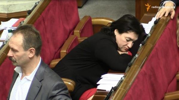 Бюджет на 2015 год принимали под «храп» депутатов (ФОТО) (фото) - фото 5