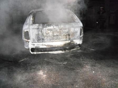 На левом берегу Днепродзержинска сгорел автомобиль, фото-1