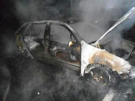 На левом берегу Днепродзержинска сгорел автомобиль, фото-3