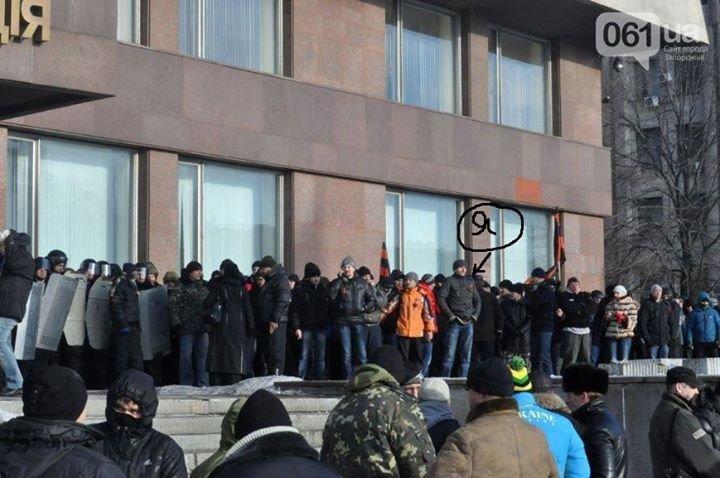 Запорожский сепаратист хвастался фото с титушками в соцсети (ФОТО) (фото) - фото 1