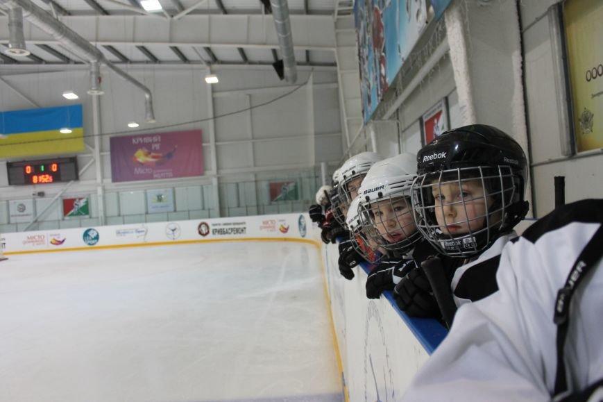 Семилетние криворожские хоккеисты уверенно переиграли команду отцов (ФОТО), фото-3