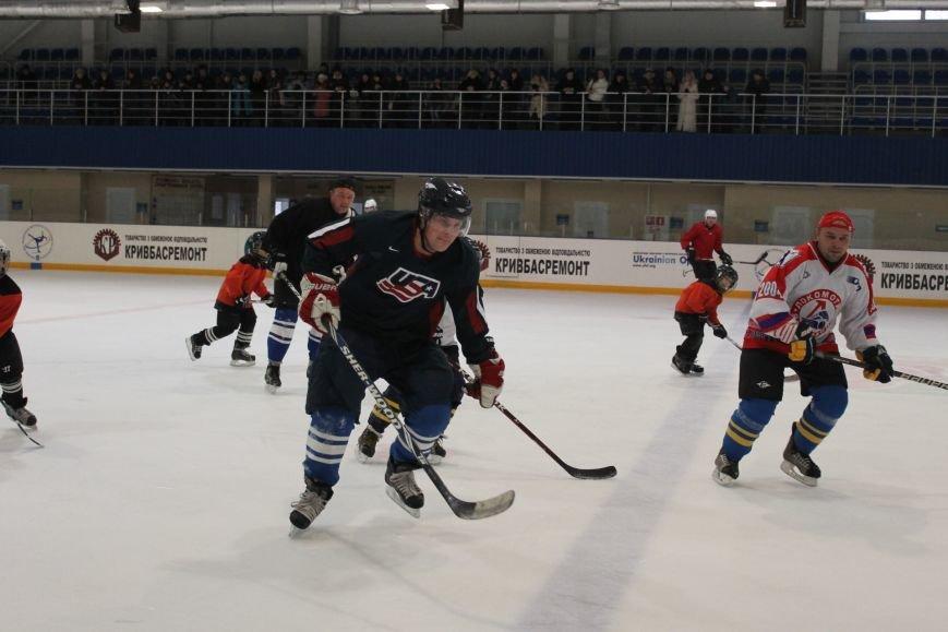 Семилетние криворожские хоккеисты уверенно переиграли команду отцов (ФОТО), фото-10