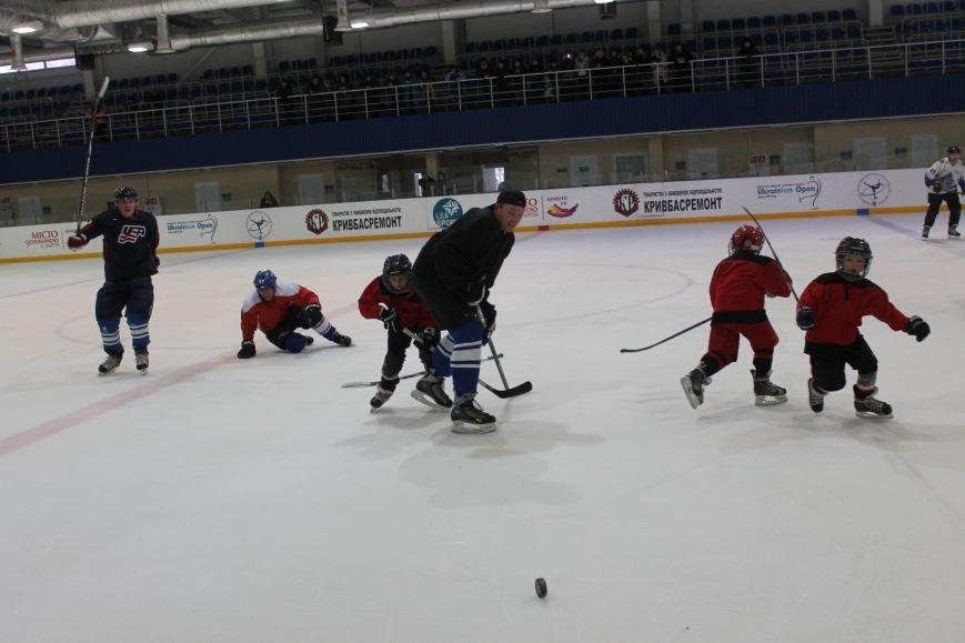 Семилетние криворожские хоккеисты уверенно переиграли команду отцов (ФОТО), фото-1