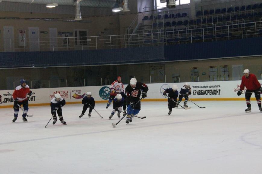 Семилетние криворожские хоккеисты уверенно переиграли команду отцов (ФОТО), фото-6