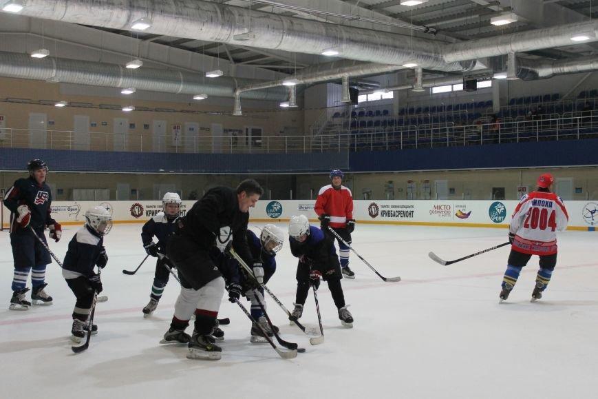 Семилетние криворожские хоккеисты уверенно переиграли команду отцов (ФОТО), фото-11