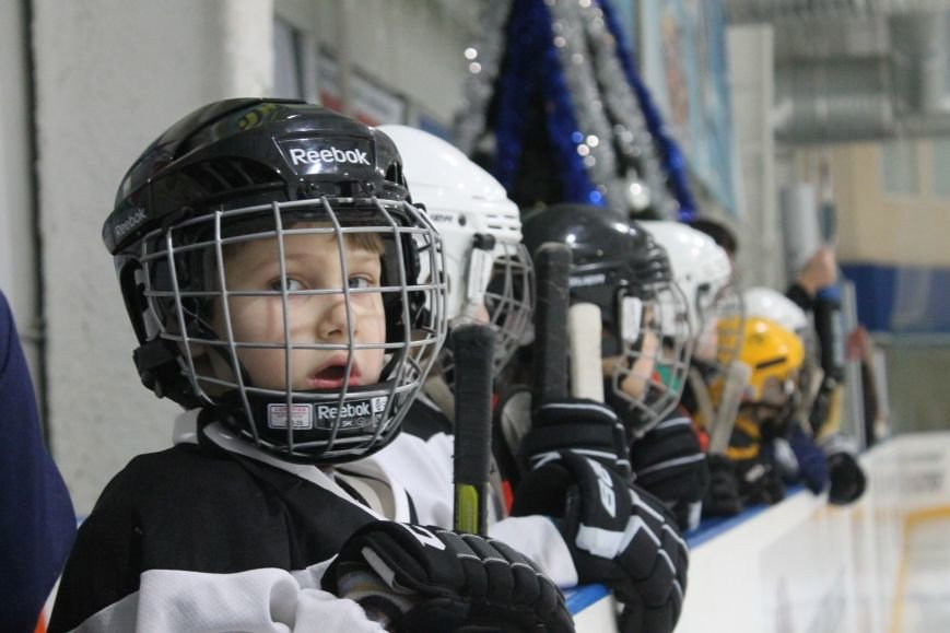 Семилетние криворожские хоккеисты уверенно переиграли команду отцов (ФОТО), фото-12