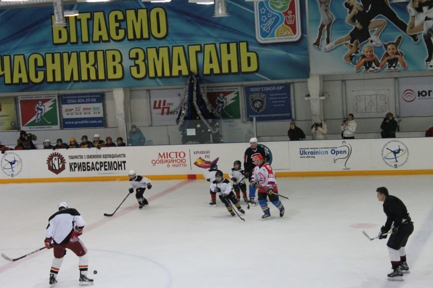 Семилетние криворожские хоккеисты уверенно переиграли команду отцов (ФОТО), фото-14