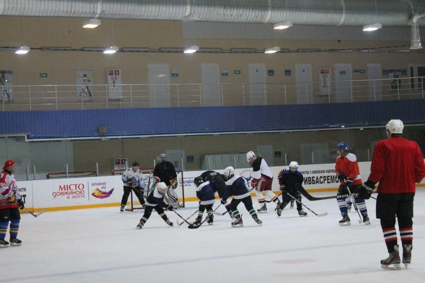 Семилетние криворожские хоккеисты уверенно переиграли команду отцов (ФОТО), фото-7