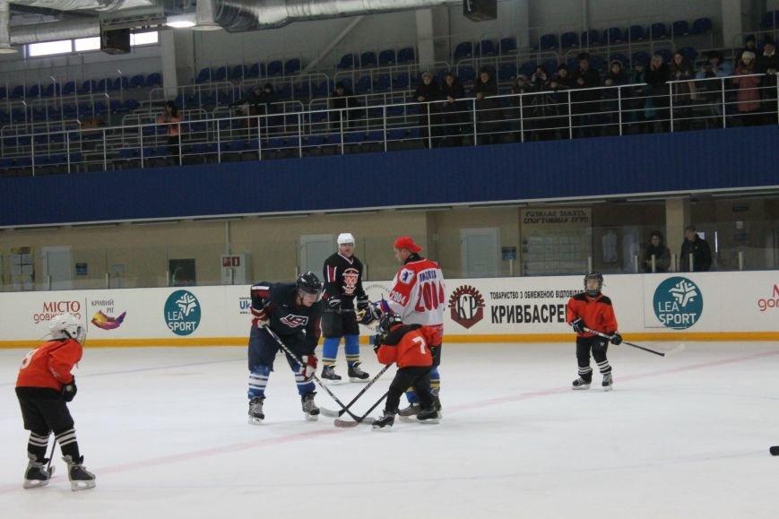 Семилетние криворожские хоккеисты уверенно переиграли команду отцов (ФОТО), фото-9