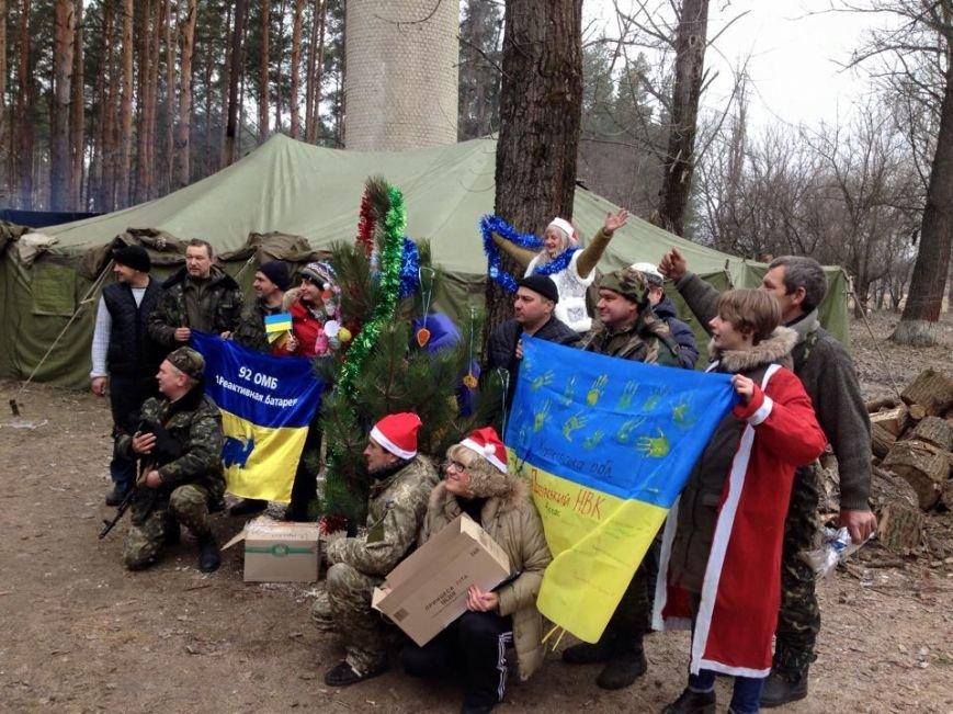 Харьковские волонтеры доставили новогодние подарки украинским военным (ФОТО), фото-8