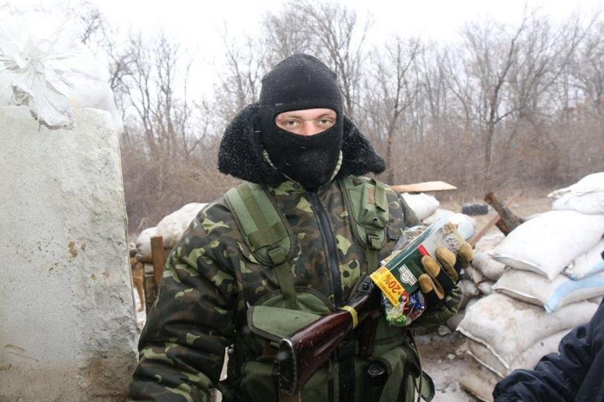 Харьковские волонтеры доставили новогодние подарки украинским военным (ФОТО), фото-6