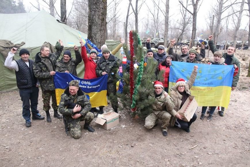Харьковские волонтеры доставили новогодние подарки украинским военным (ФОТО), фото-5
