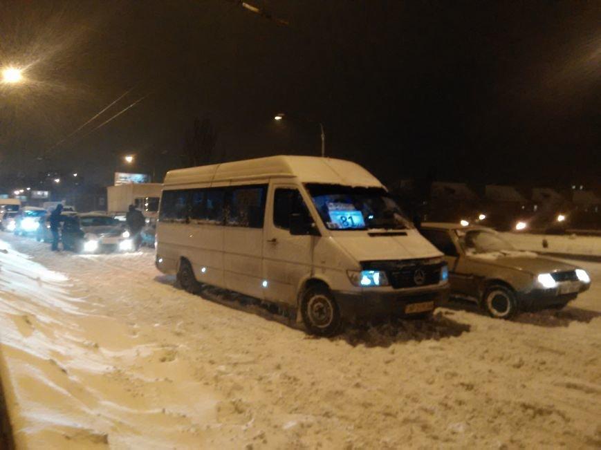 В Запорожье снегопад устроил транспортный коллапс (ФОТО, ОБНОВЛЕНО), фото-3