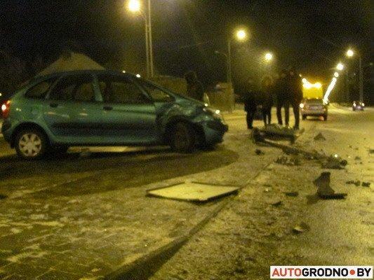 В Гродно столкнулось два «Ситроена»: одна из машин загорелась (Фото), фото-7