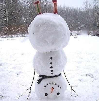 Neobichnie-snegoviki