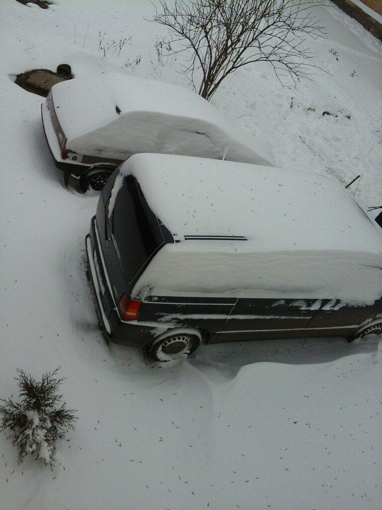 После снежного шторма в Кривом Роге транспортный коллапс (фото) - фото 2