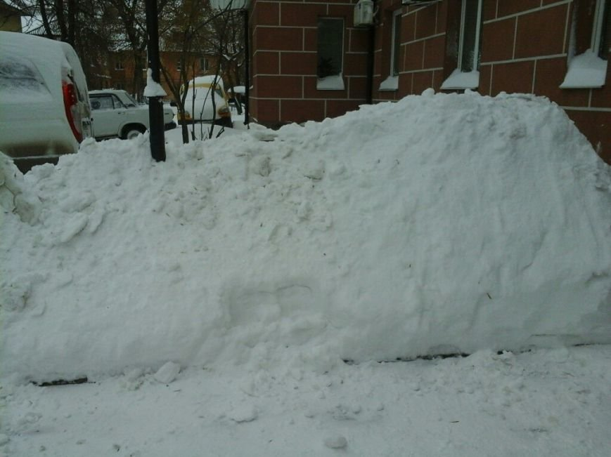 После снежного шторма в Кривом Роге транспортный коллапс (фото) - фото 1