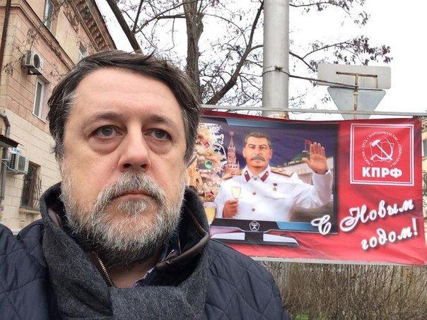 ФОТОФАКТ: Сталин «поздравил» севастопольцев с Новым годом! (фото) - фото 1