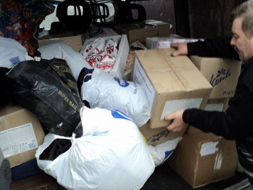 Криворожские волонтеры доставили на передовую новогодние подарки и поздравления бойцам (ФОТО) (фото) - фото 1