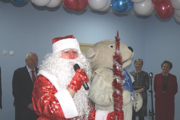 Дедушку Мороза пригласили на открытие нового детского сада в Домодедово (фото) - фото 1