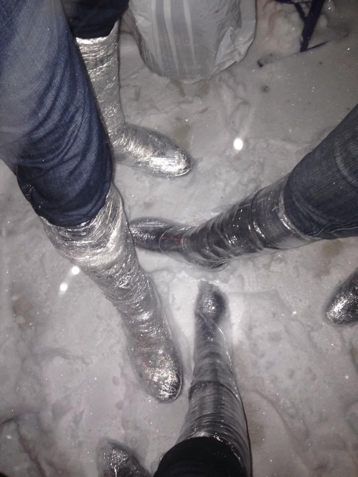 Как справиться со снегом и получить удовольствие: ноу-хау настоящего одессита (ФОТО, ВИДЕО) (фото) - фото 1
