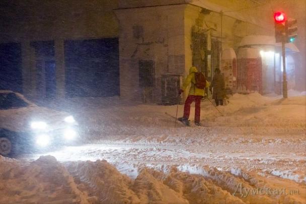 Как справиться со снегом и получить удовольствие: ноу-хау настоящего одессита (ФОТО, ВИДЕО) (фото) - фото 3