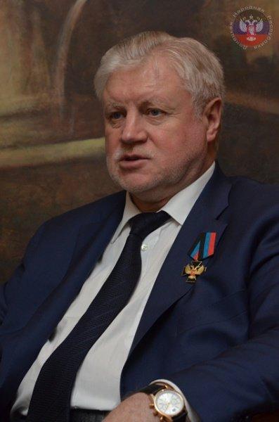 Захарченко наградил депутата российской Госдумы орденом «ДНР»  (ФОТО), фото-1