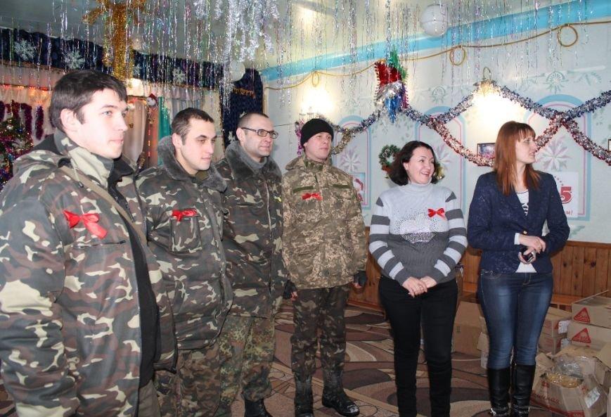 Детей-сирот из Часов Яра навестили с гостинцами украинские военные и благотворительный фонд «ДАР», фото-2