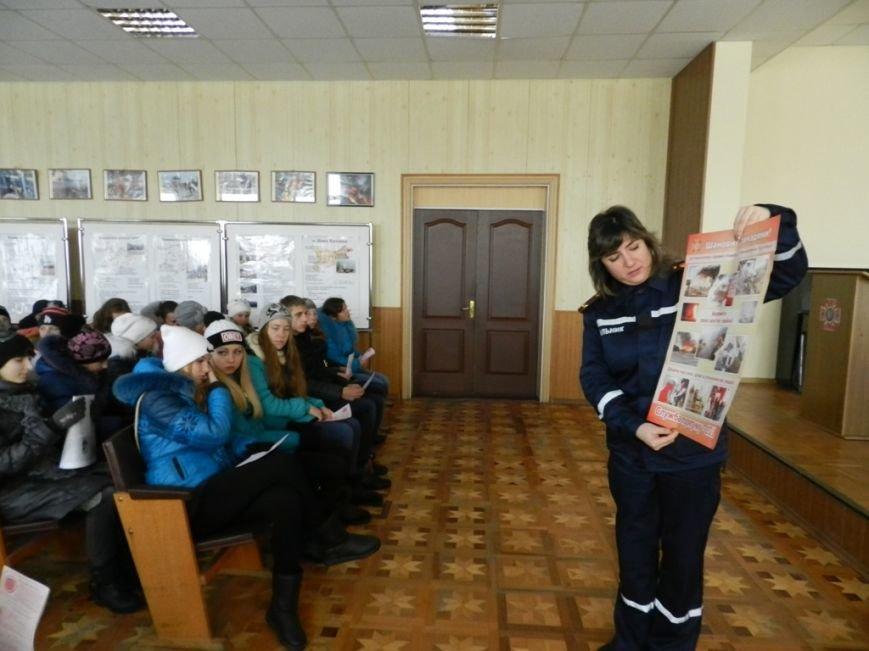 Накануне новогодних праздников дети из Нижних Серогоз посетили херсонских спасателей (фото) (фото) - фото 6