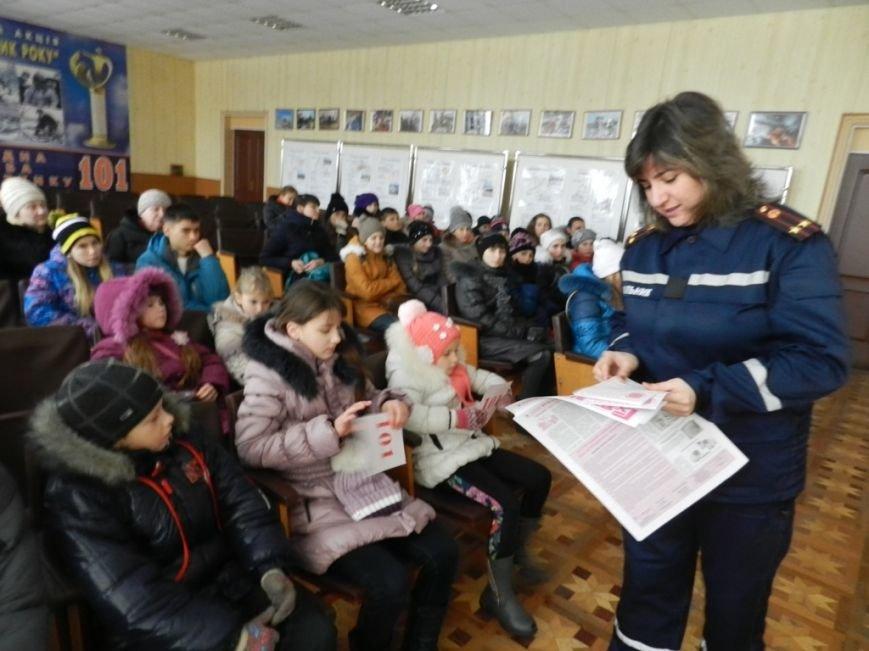 Накануне новогодних праздников дети из Нижних Серогоз посетили херсонских спасателей (фото) (фото) - фото 5