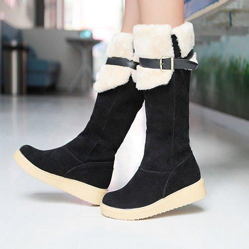 Зимняя обувь на меху сохранит тепло ног даже в суровую погоду