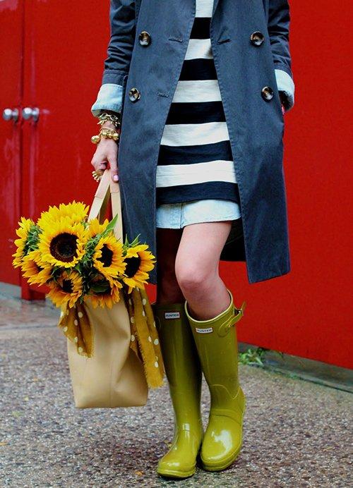 Красивые резиновые сапоги – чтобы ноги были всегда сухими