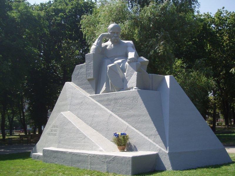 Памятник_Шевченку-Полтава