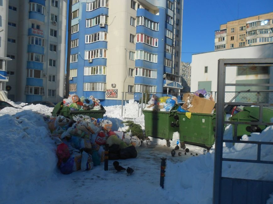 Одесские дворы завалены мусором (ФОТО) (фото) - фото 1