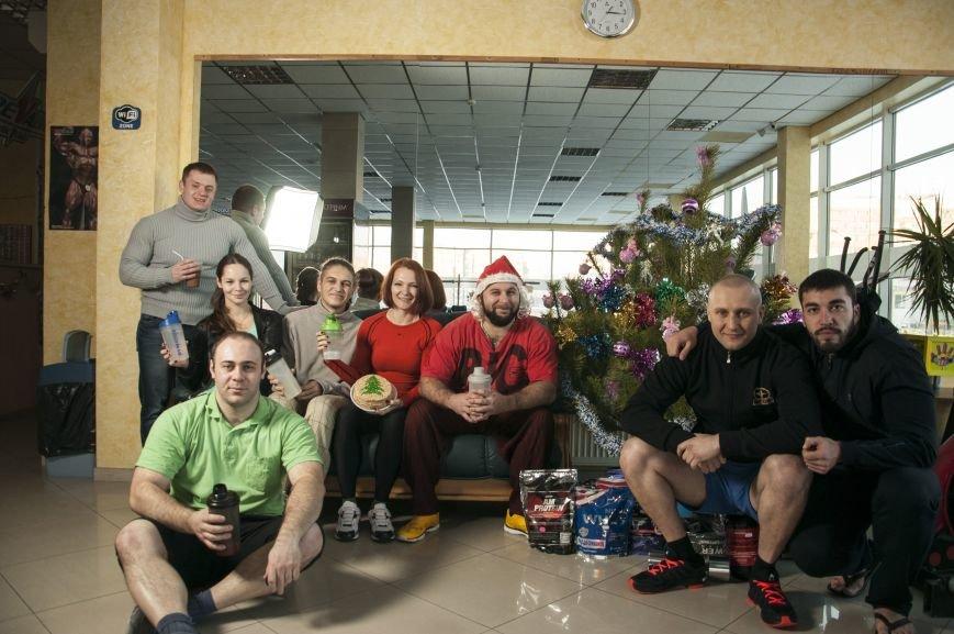 ФОТОРЕПОРТАЖ: Как запорожские силачи встречают Новый Год, фото-22