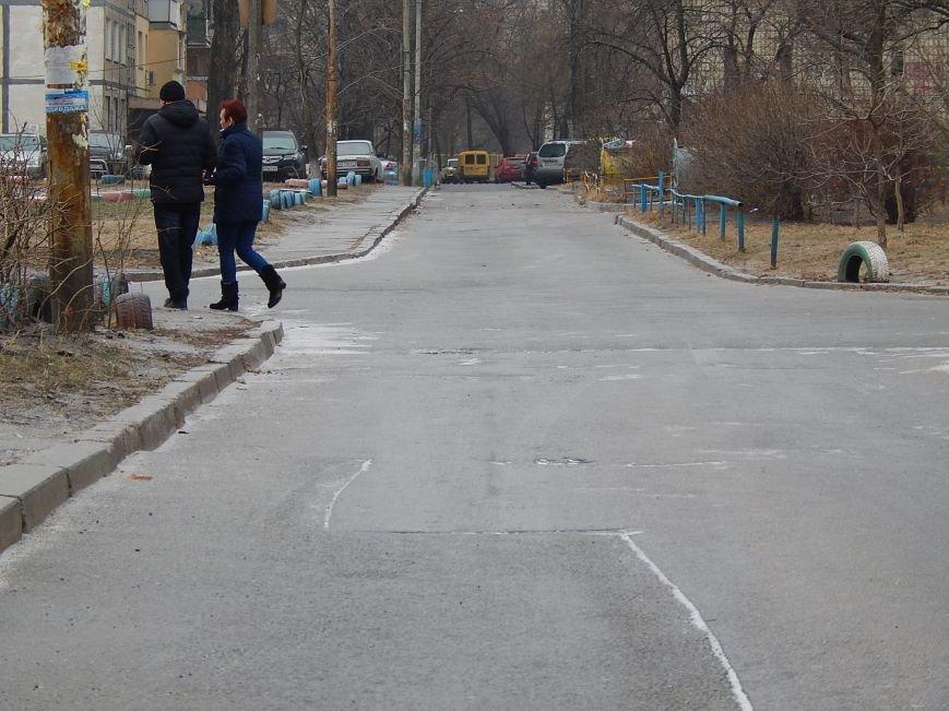 В первый день Нового года киевляне страдают от гололеда (ФОТО) (фото) - фото 1