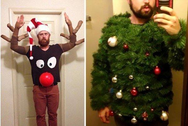 Необычные новогодние свитера (фото) - фото 4