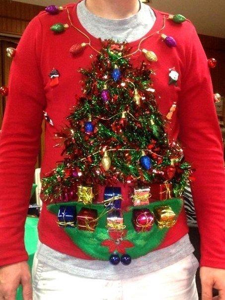 Необычные новогодние свитера (фото) - фото 2