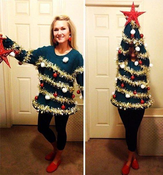 Необычные новогодние свитера (фото) - фото 1