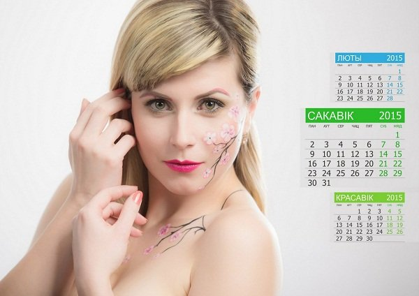 Сотрудницы ГАИ Гродно снялись для настенного календаря на 2015 год (Фото) (фото) - фото 4