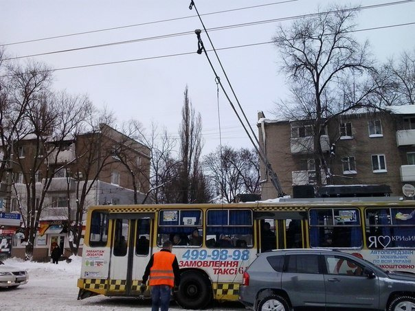 Кого сделали виновными в срыве работы электротранспорта в Кривом Роге? (фото) - фото 1