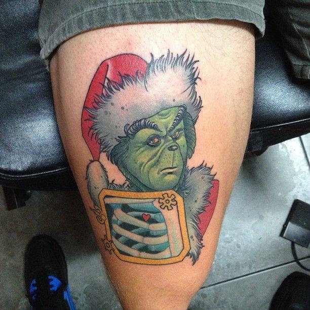 Новогодние татуировки (фото) - фото 4